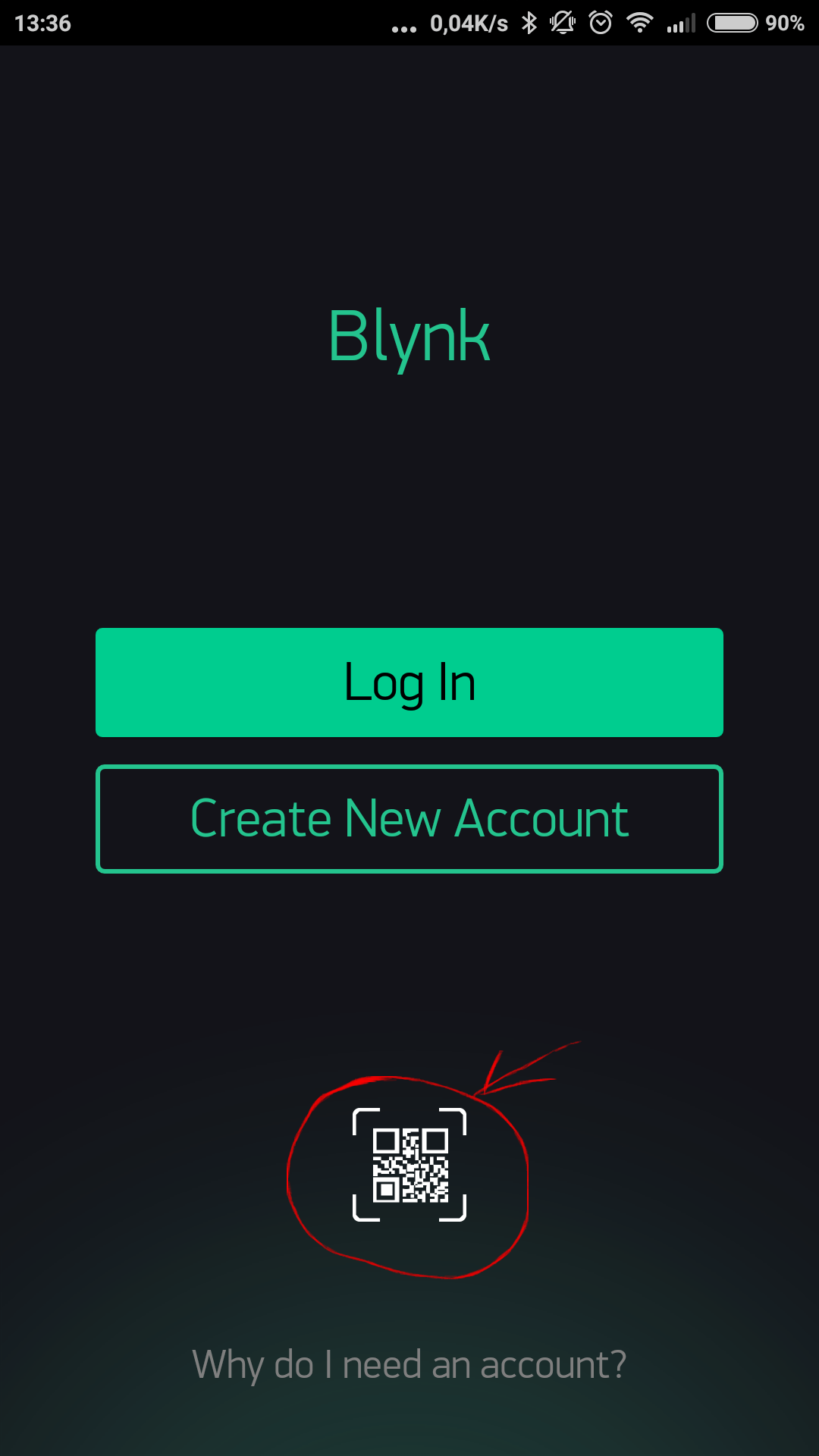 Blynk Server Wiringpi Serial Lcd Scan Qr